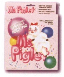 Nafukovací panna -  Slečinka prasátko Piglet