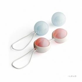 Venušiny kuličky Luna bílá perla