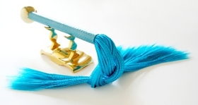 Stojánek na vibrátor Minx zlatý