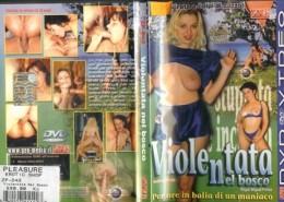 Erotické DVD Violentata Nel Bosco