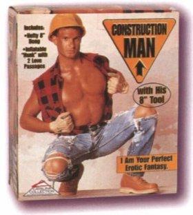 Nafukovací muž – Stavbař