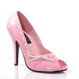 Boty Seduce-219, růžovo-bílá