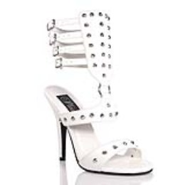Boty SEDUCE-126 MULTI ANKLE STRAP WHITE