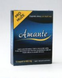Tableta na podporu erekce Amante