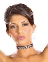 Náhrdelník Bling Collar SEXY Black