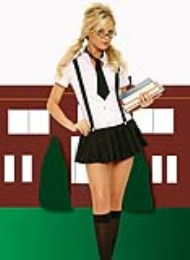 Kostým Business School Girl S