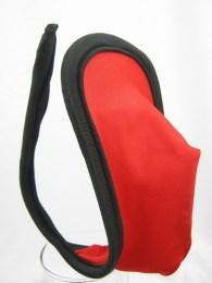 Neviditelná pánská tanga C-string červená