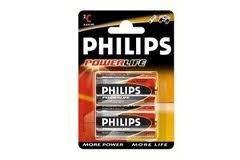 Alkalická baterie Philips typ C