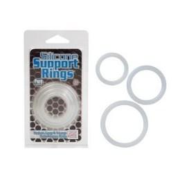Erekční kroužek Silicone Support ring clear