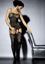 Overal Catsuit Bodystocking F204