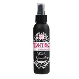 Masážní olej Tantric bílá levandule s feromony