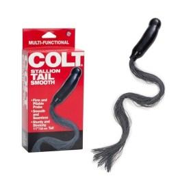Anální kolík s ocasem / důtky - COLT Stallion Tail Smooth