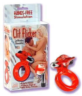 Sexshop: Erekční kroužek Clit Ficker with Wireless Stimulator