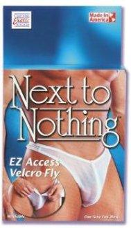 EZ Access Volcro Fly - White