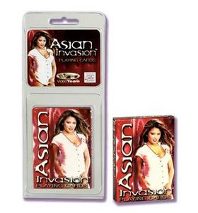 Asian Invasion - Playing Cards