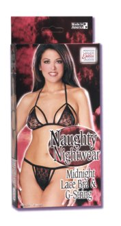 Naughty Nightwear - Midnight Lace