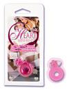 Pink heart mini ring