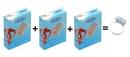 Primeros Extra Lubricated 3x + vibrační kroužek zdarma