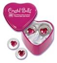 Crystal balls heart