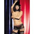 Podvazkový pás Showgirl garter belt