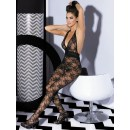 Overal Catsuit Bodystocking L400 black