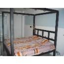 Kovová postel 200x200