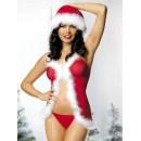 Vánoční kostým Santa helper babydoll