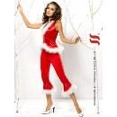 Vánoční kostým Santa lady pants and vest