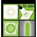 Svítící Kondom Pasante 1ks