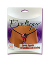 Erotique Apple Crotchless G-String