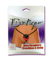 Erotique Strawberry Crotchless G-String